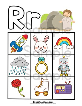 Abc clipart letter week. Bible of the r