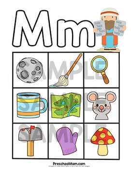 Bible of the m. Abc clipart letter week