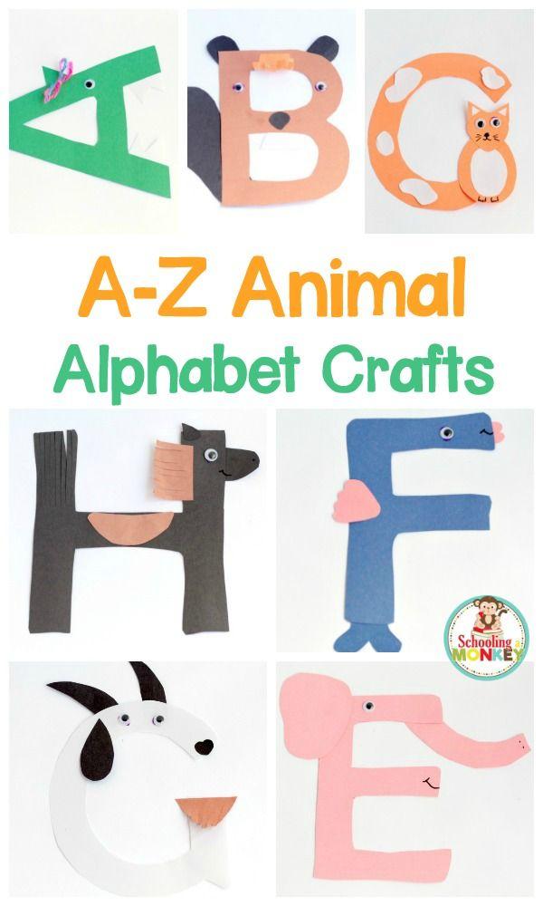 Easy a z alphabet. Abc clipart letter week