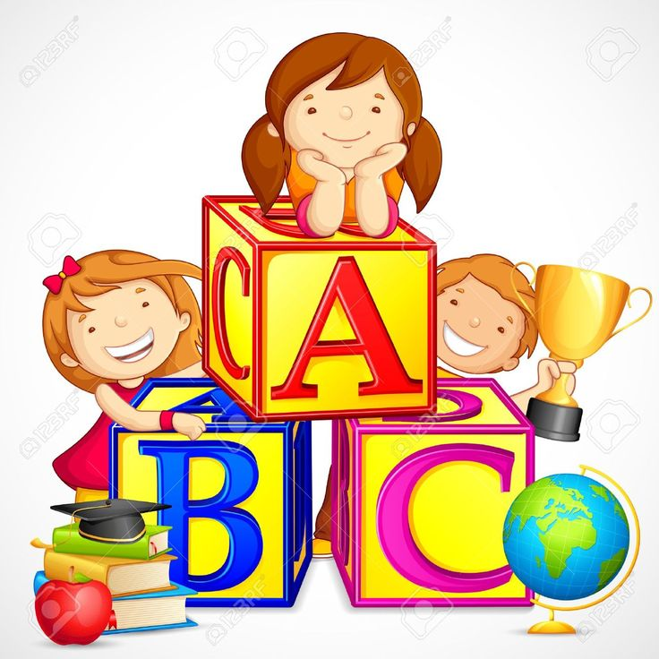 best images on. Abc clipart nursery school