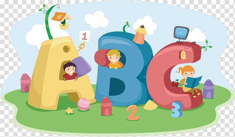 Illustration pre playgroup day. Abc clipart nursery school