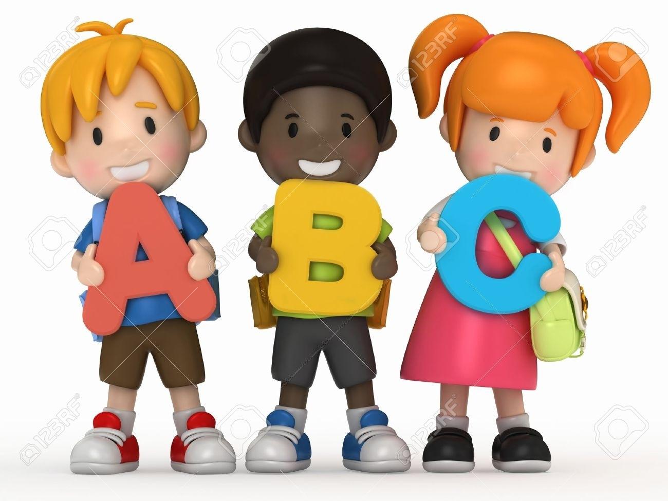 Abc clipart nursery school. Kids learning kind of