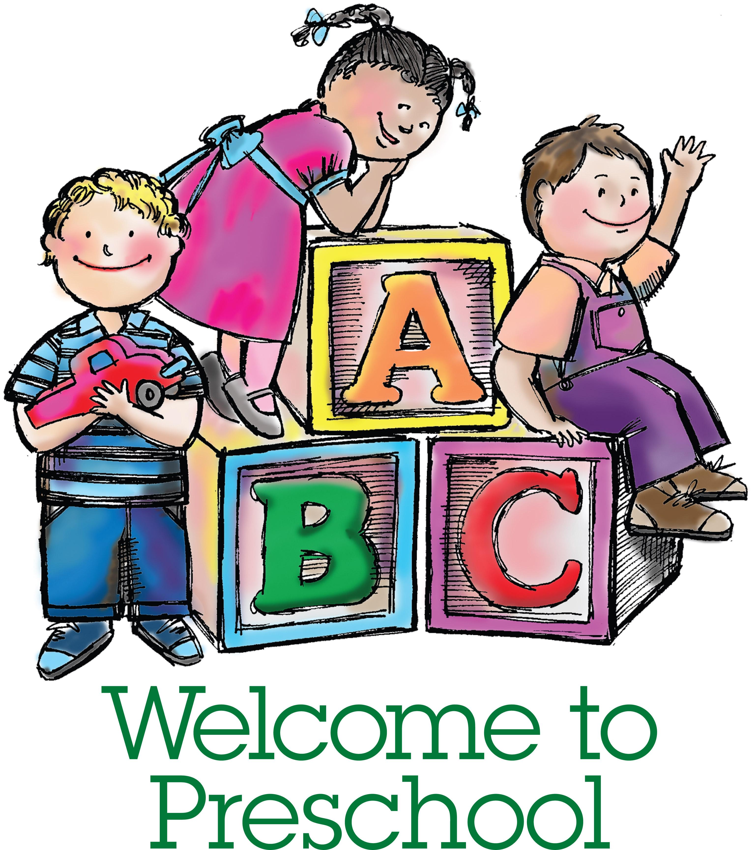 Abc clipart nursery school. Preschool back to