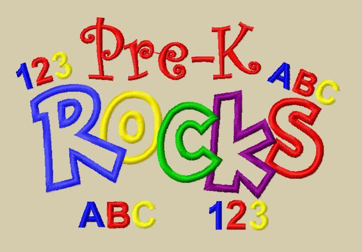 Abc clipart pre k. Kindergarten free