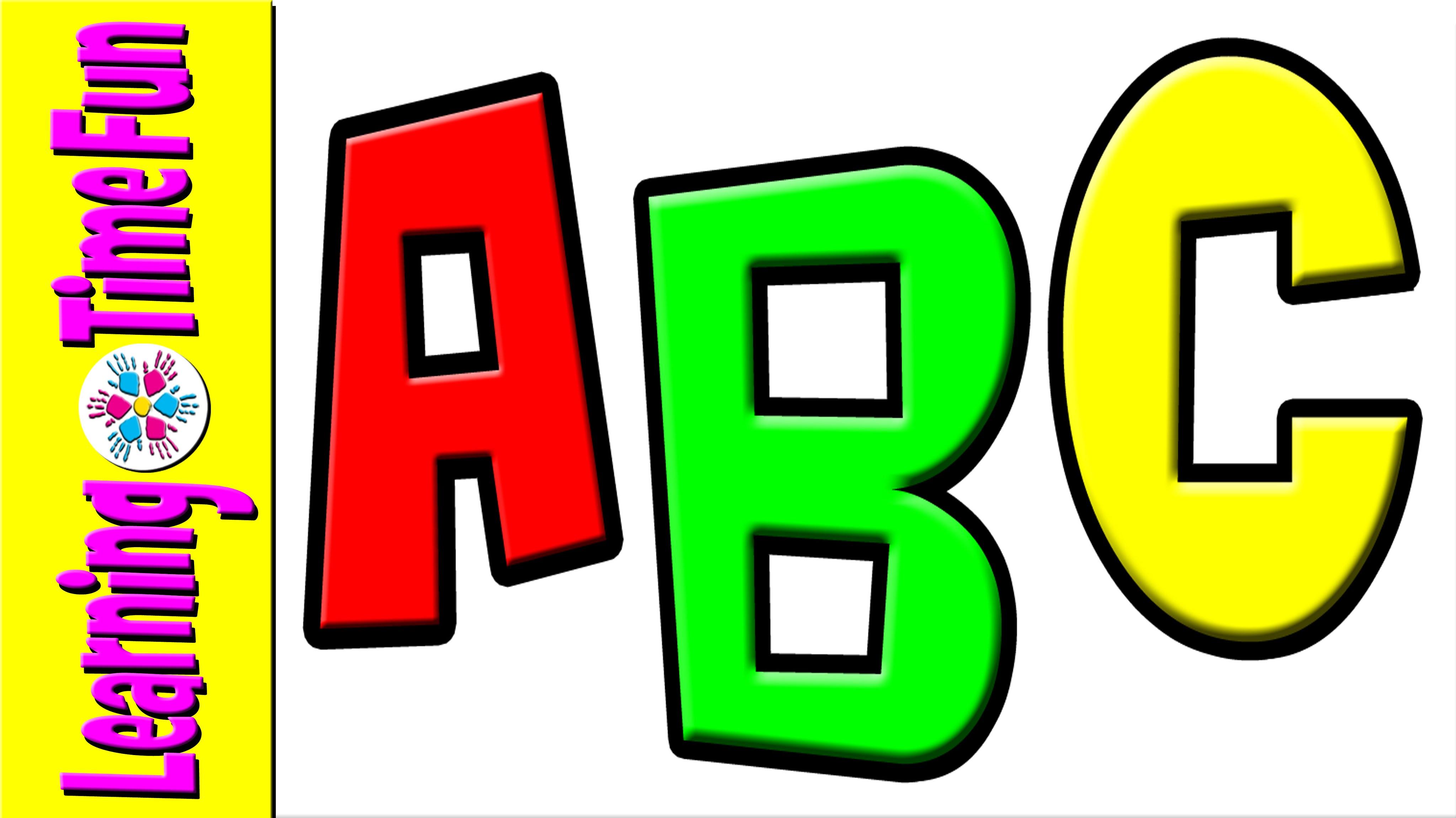 Learn english alphabet kids. Abc clipart pre k
