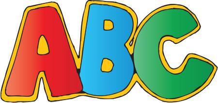 Abc clipart preschool. Kids nursery peterborough information