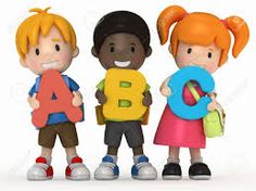 awesome student walking. Abc clipart preschool