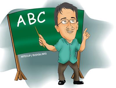 Abc clipart teacher. Arteclip by busyok creative