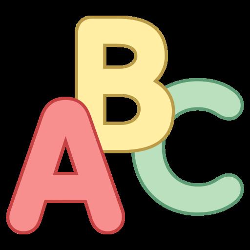 Abc clipart transparent. Png images pluspng icon