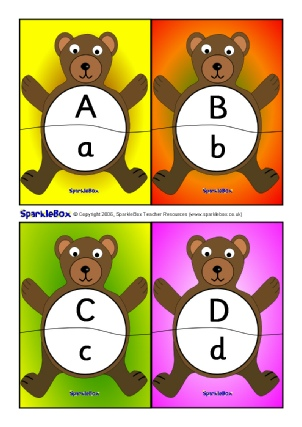 Letters capital activities games. Abc clipart uppercase letter