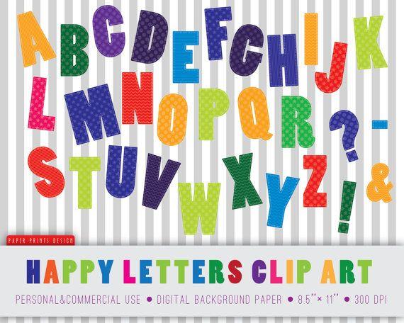 alphabet clip art. Abc clipart uppercase letter
