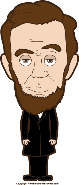 Abraham lincoln clipart. Clip art and hardin