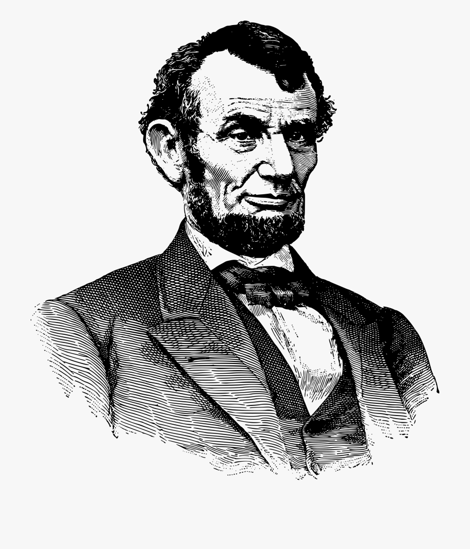 Abraham lincoln clipart. Png image clip art