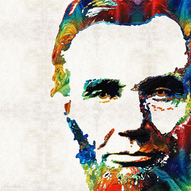 best images on. Abraham lincoln clipart abstract