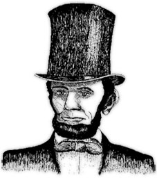 Free presidents day graphics. Abraham lincoln clipart animated
