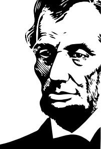 Abraham lincoln clipart animated. Clip art at clker