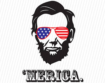 Abraham lincoln clipart cut out. President merica th of