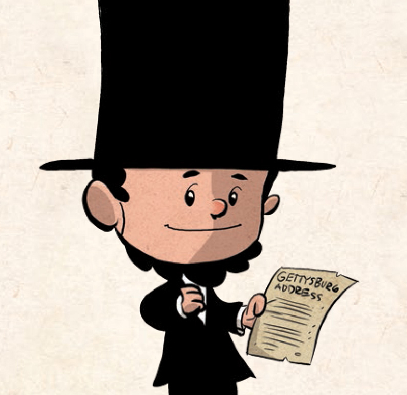 Cartoon drawing free download. Abraham lincoln clipart cute