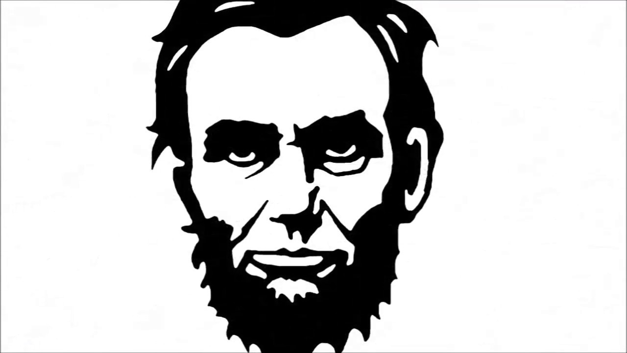 Abraham lincoln clipart easy, Abraham lincoln easy ...