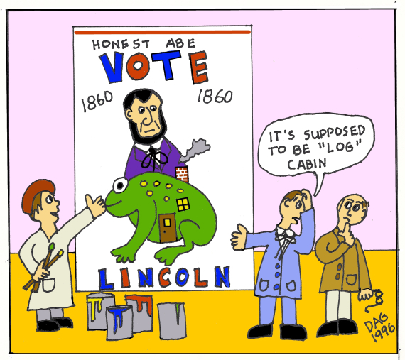 Abraham lincoln clipart election. Day vote for by