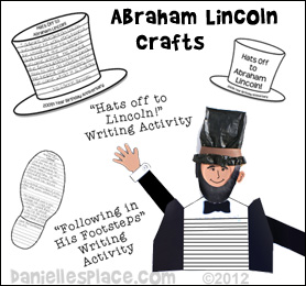 Abraham lincoln clipart fact. Crafts and learning activities
