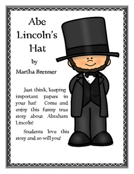 Abe s hat book. Abraham lincoln clipart fact