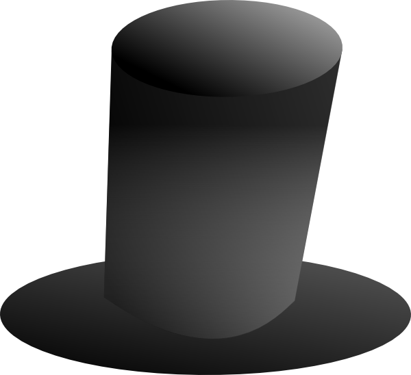 Top hat clip art. Tall clipart rate