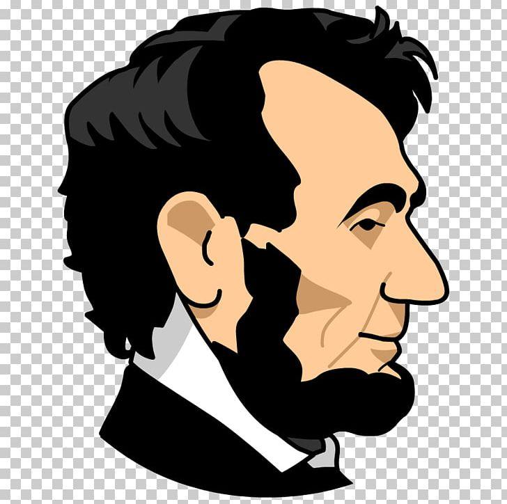 American civil war free. Abraham lincoln clipart head