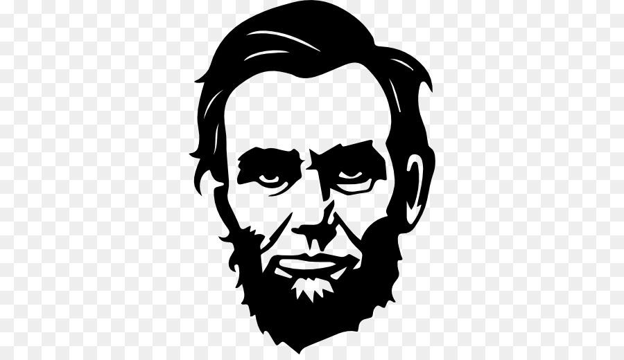 Abraham lincoln clipart head. Face cartoon sticker transparent