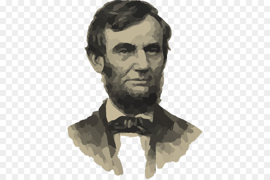Mount rushmore national memorial. Abraham lincoln clipart head