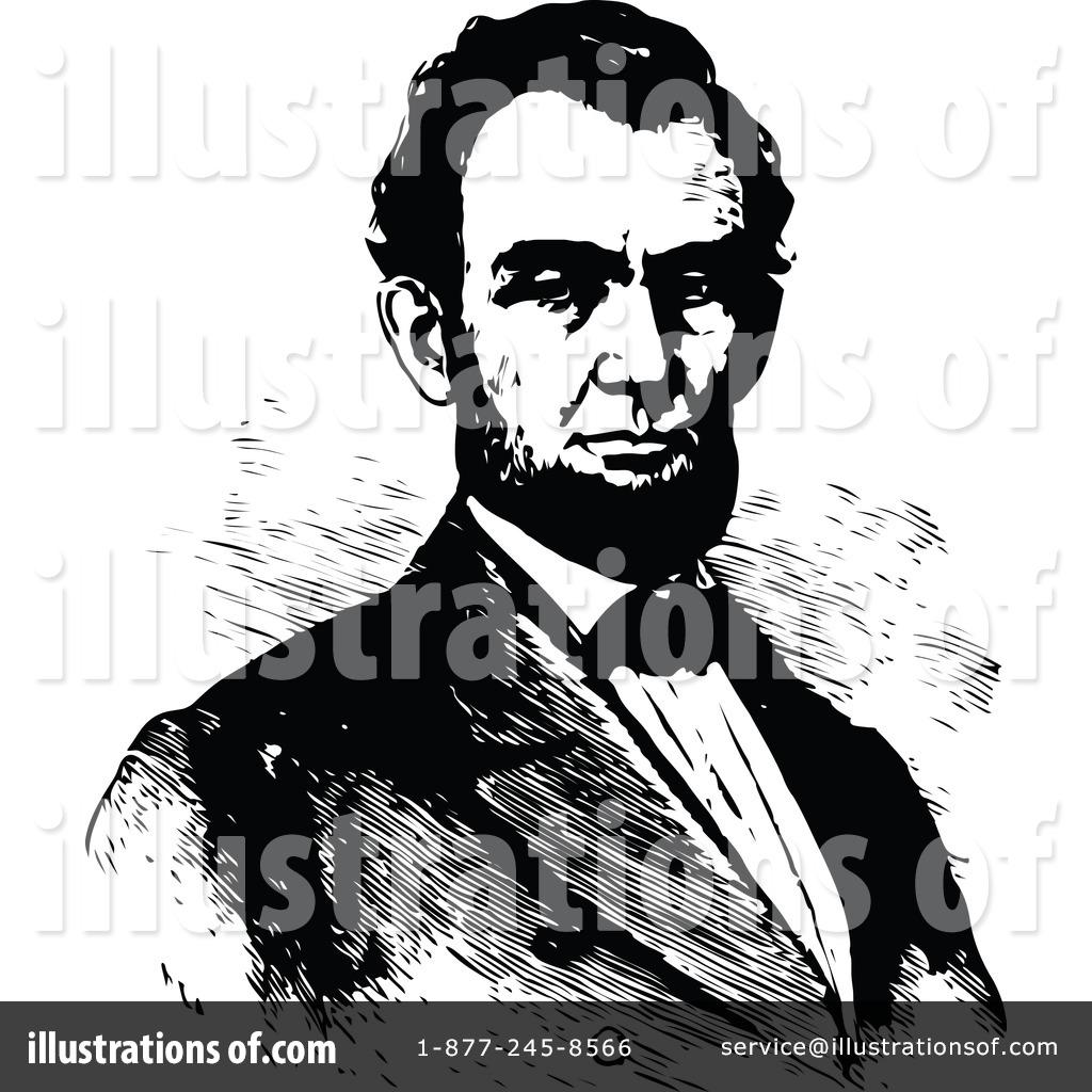 Abraham lincoln clipart illustration. By prawny vintage royaltyfree