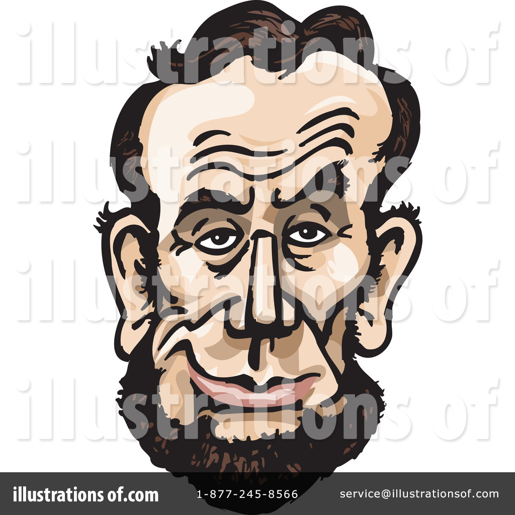By dennis holmes designs. Abraham lincoln clipart illustration