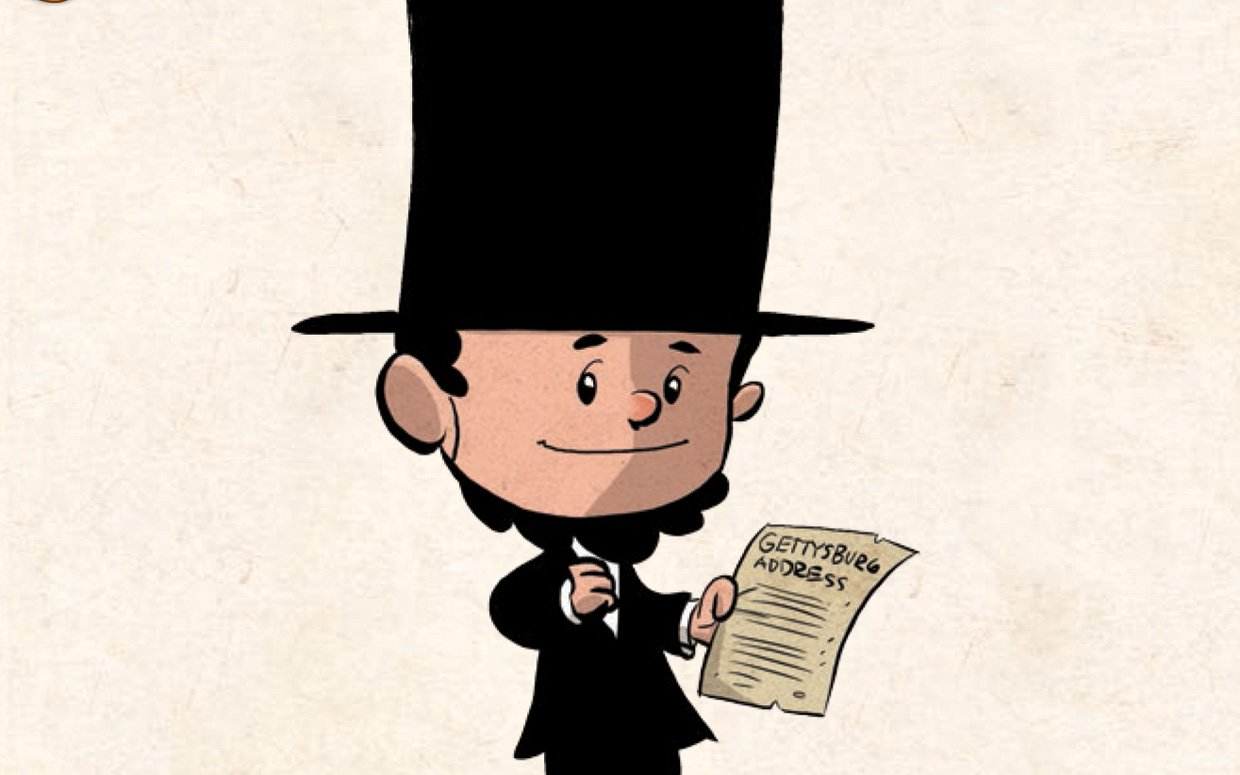 Abraham lincoln clipart kid. Learning from legends a