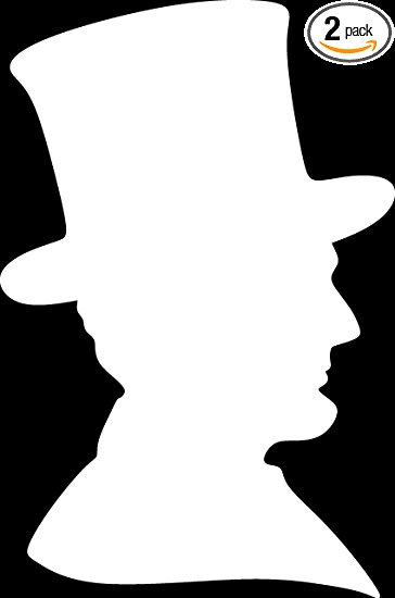 At getdrawings com free. Abraham lincoln clipart silhouette
