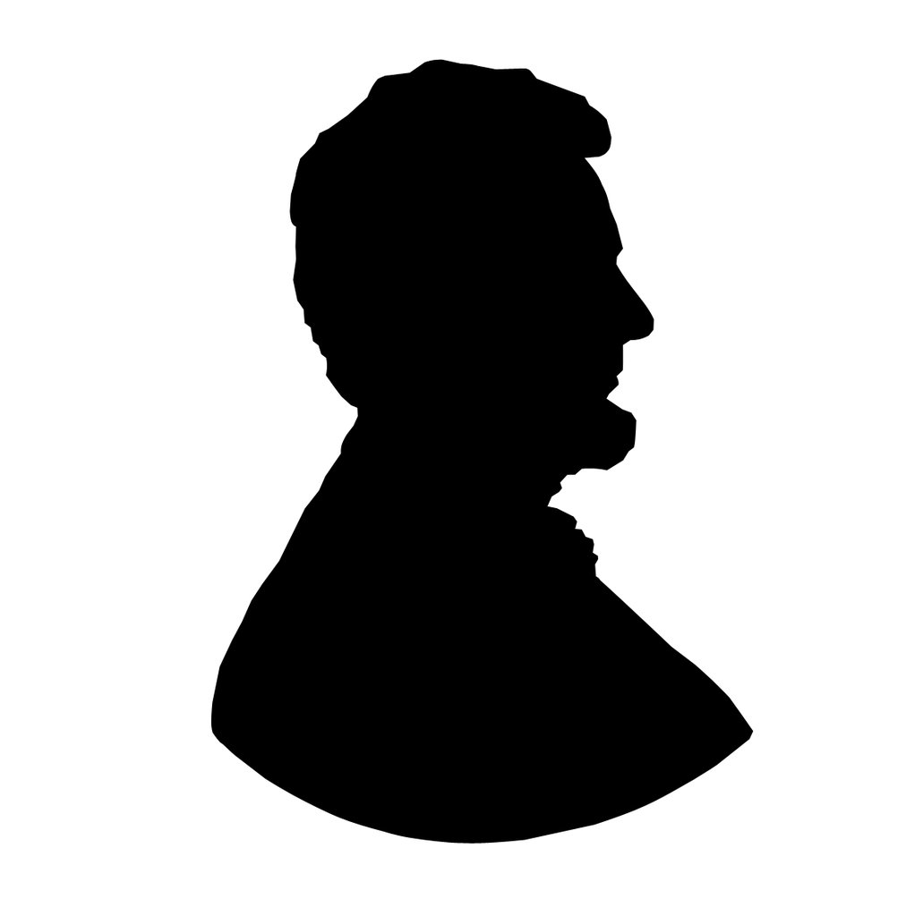 Clip art at getdrawings. Abraham lincoln clipart silhouette