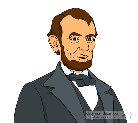 Clip art for kids. Abraham lincoln clipart