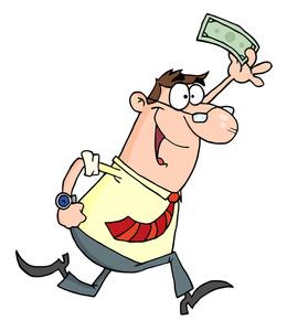 Cartoon image clip art. Accountant clipart animated