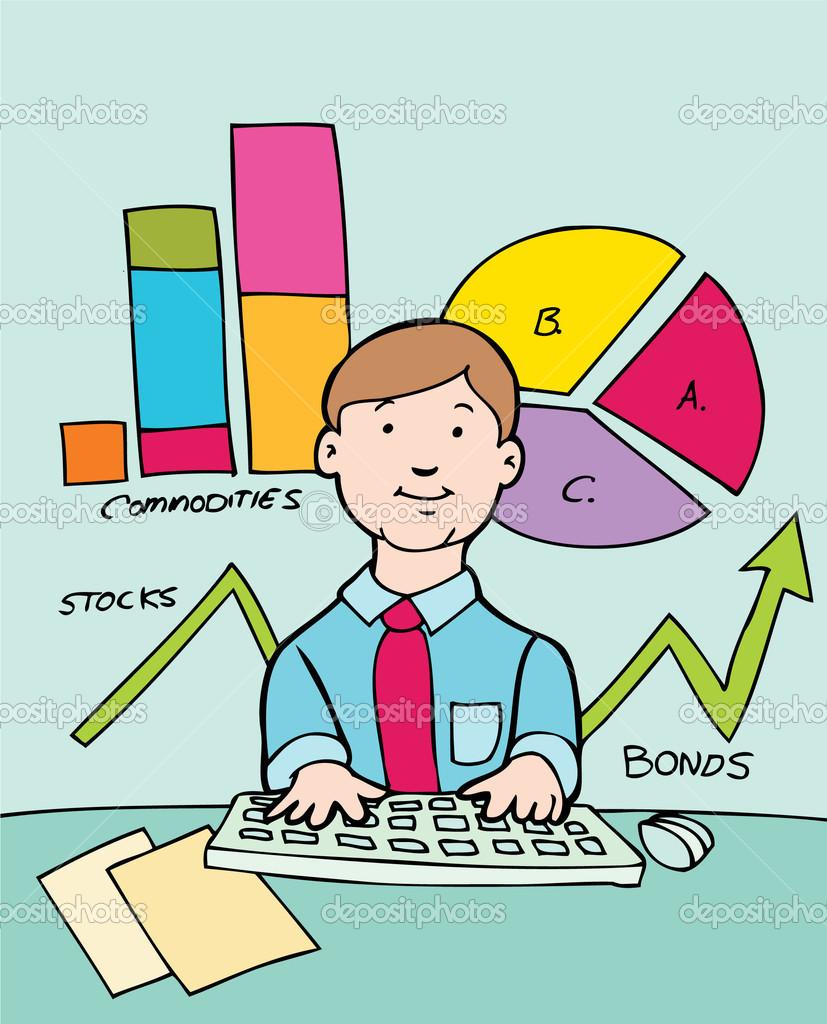 Advisor clip art panda. Finance clipart budget analyst
