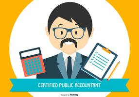 Accountant clipart certified public accountant. Free vector art downloads
