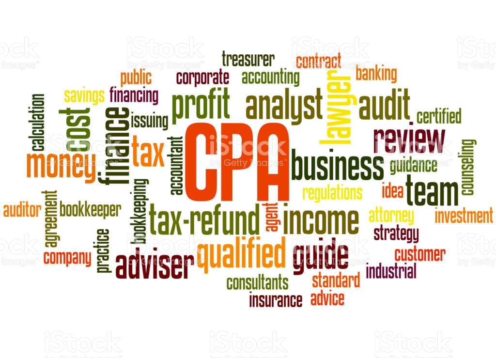 Accountant clipart certified public accountant. Cpa word cloud concept