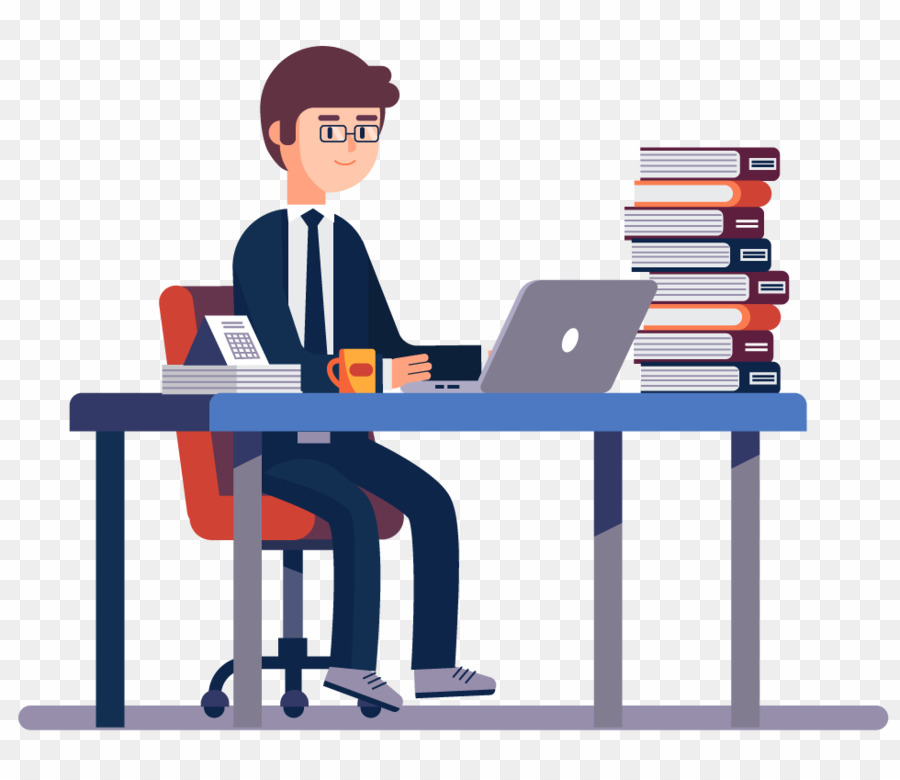 Chartered png accounting . Accountant clipart desk