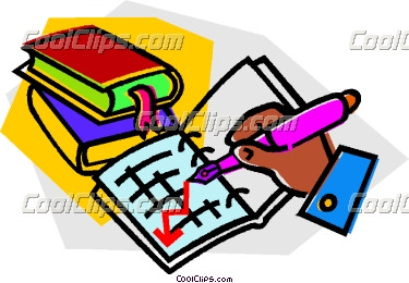 Books and records vector. Accountant clipart financial record