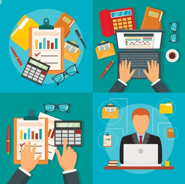 How is accounting important. Accountant clipart financial record