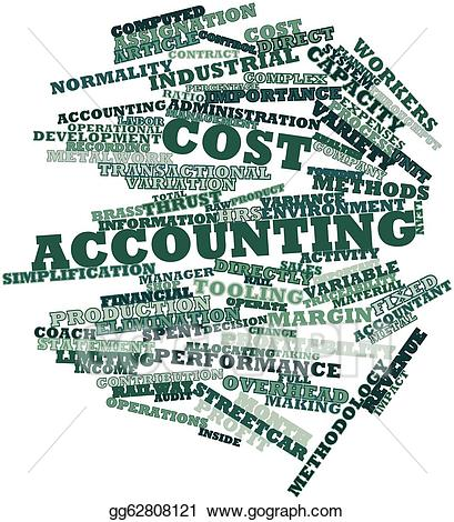 Stock illustration cost gg. Accounting clipart managerial accounting