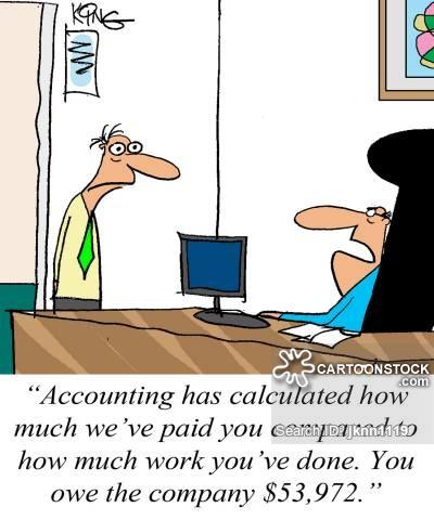 Accountant clipart payroll clerk. Cartoons and comics funny