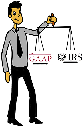 Equipment leasing and tax. Accounting clipart accounting book