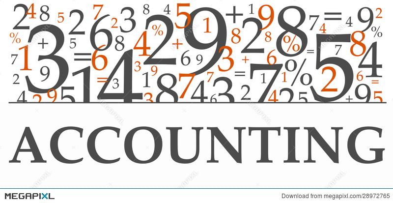 Accounting clipart accounting book. Illustration megapixl