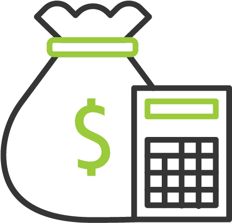 Finance valuation icon png. Accounting clipart accounting journal