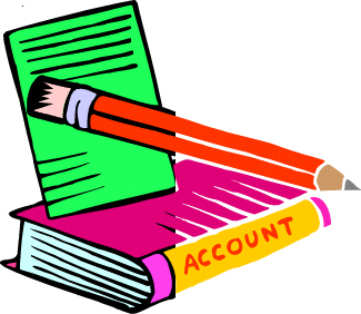 Account panda free images. Accounting clipart accounting journal