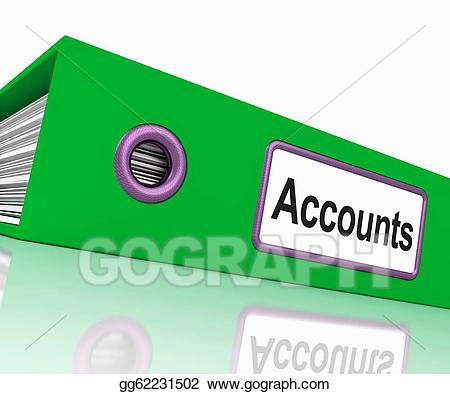 Drawing accounts file shows. Accounting clipart final account